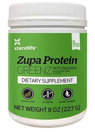 Xtend Life Zupa Protein GREENZ with Banana